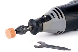 miniature rotary tool and grinder accessory